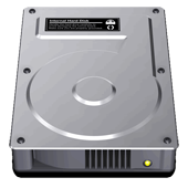 how to put files on a hard drive mac