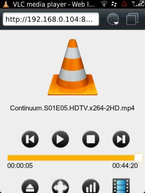 Free VLC remote for BlackBerry | Network Programming in  NET