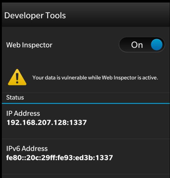 AngularJS And BlackBerry 10 Webworks