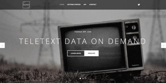 Teletext #API via XML / SOAP – free to use | Network