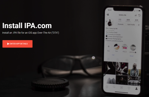 Install #IPA – An over-the-air IOS app installation service