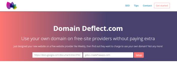 domain-deflect