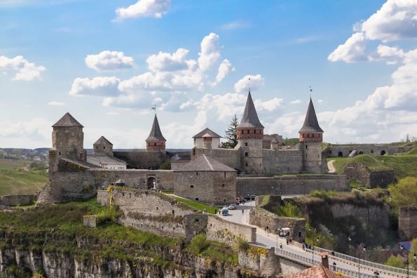Kamianets-Podilskyi-Castle